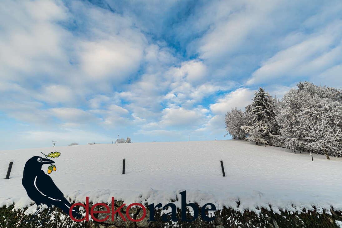 Geschenkoption Motiv: Schneehügel