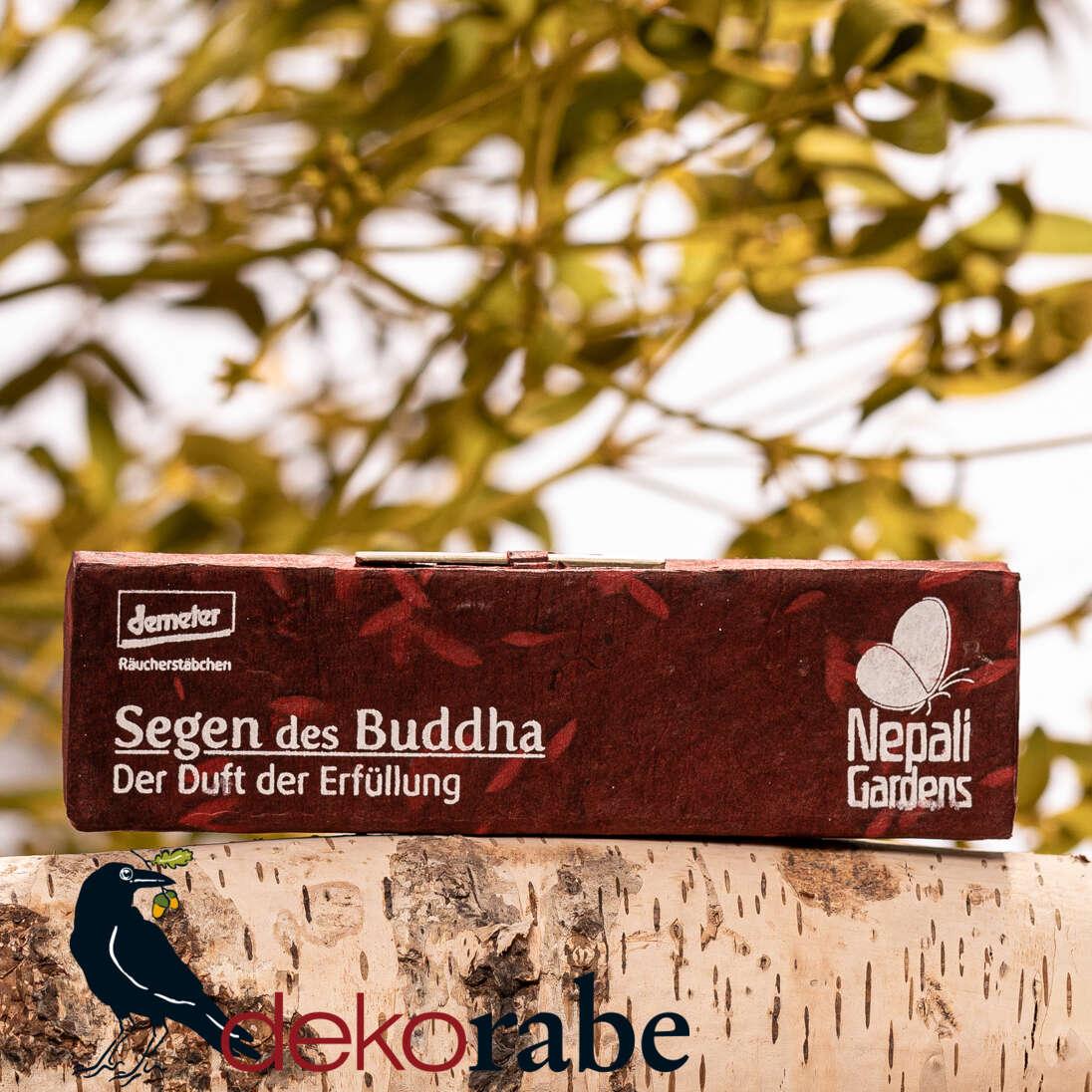 Räucherstäbchen Segen des Buddha Demeter Qualität
