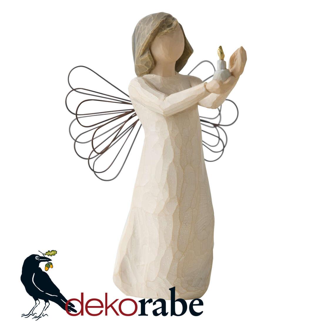Engel der Hoffnung Krippefigur