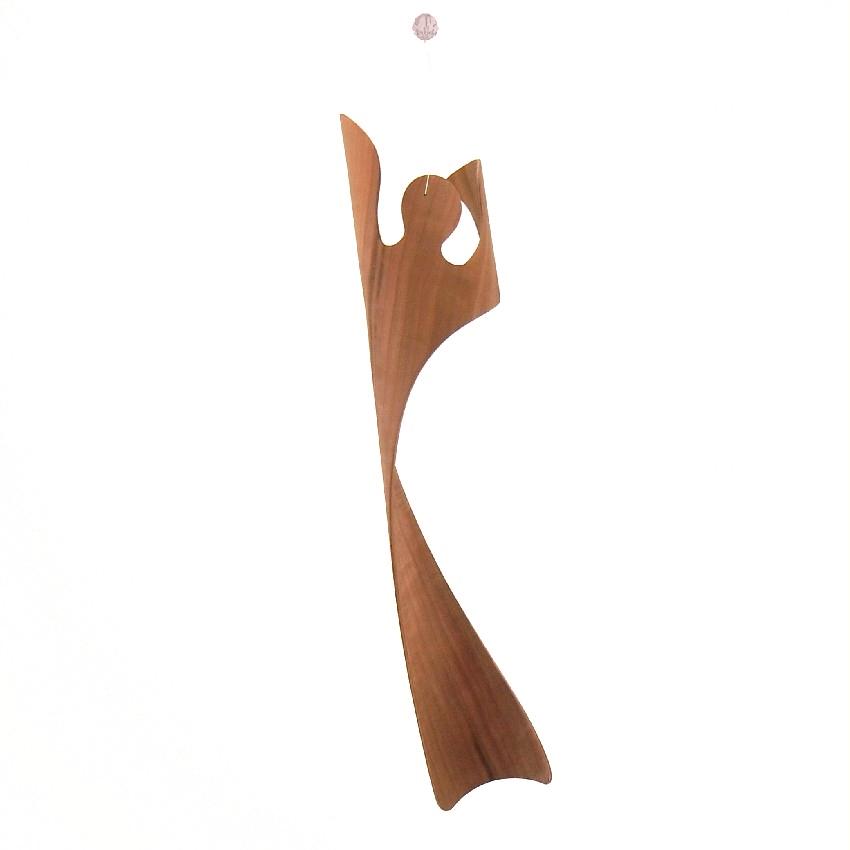Engel der Transformation Apfel 30 cm mit Suncatcher Kristall
