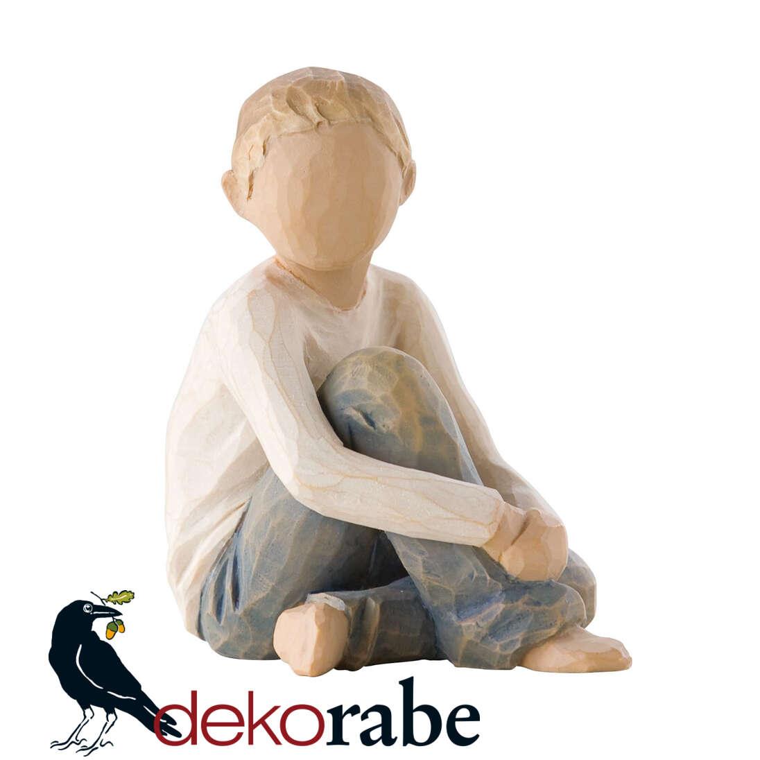 Fürsorgliches Kind Kinderfigur