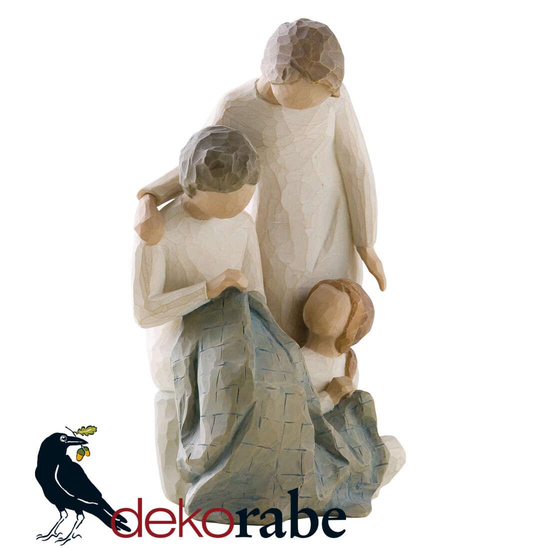 Vater, Mutter mit Kind Die Familie